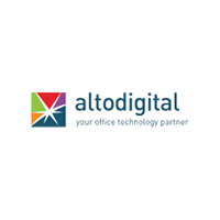 Altodigital logo, portal customer